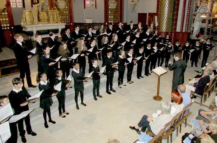 Concert à l'église Notre-Dame de l'assomption