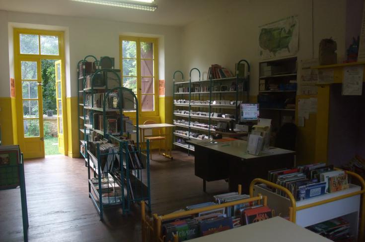 Salle de la bibliothèque - Archive de de la commune