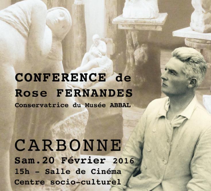 Conférence de Rose Fernandes sur André ABBAL