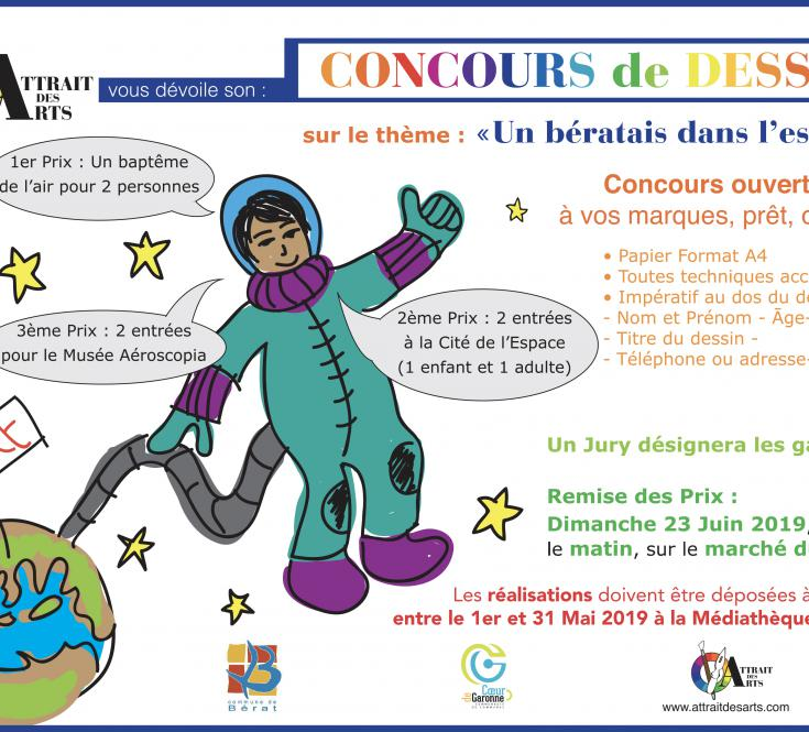 CONCOURS DE DESSIN MAI 2019