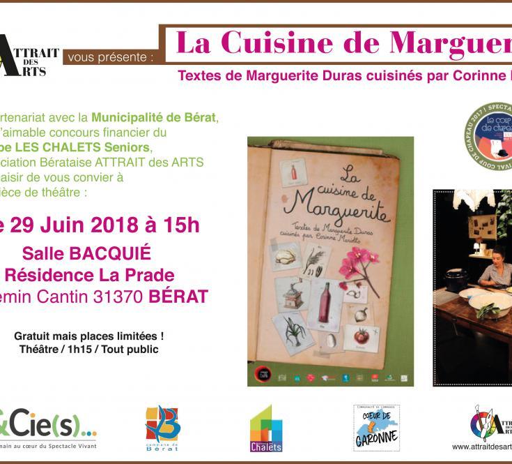 """Pièce de Théâtre """"La cuisine de Marguerite"""" - 2018"""
