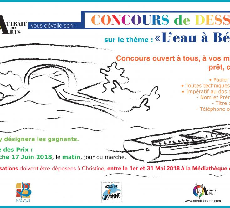CONCOURS DE DESSIN MAI 2018
