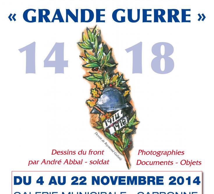 Exposition Grande Guerre Nov. 2014
