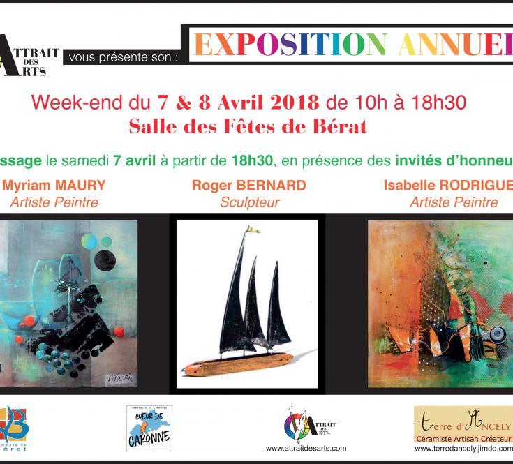 Exposition Annuelle de l'Association 2018