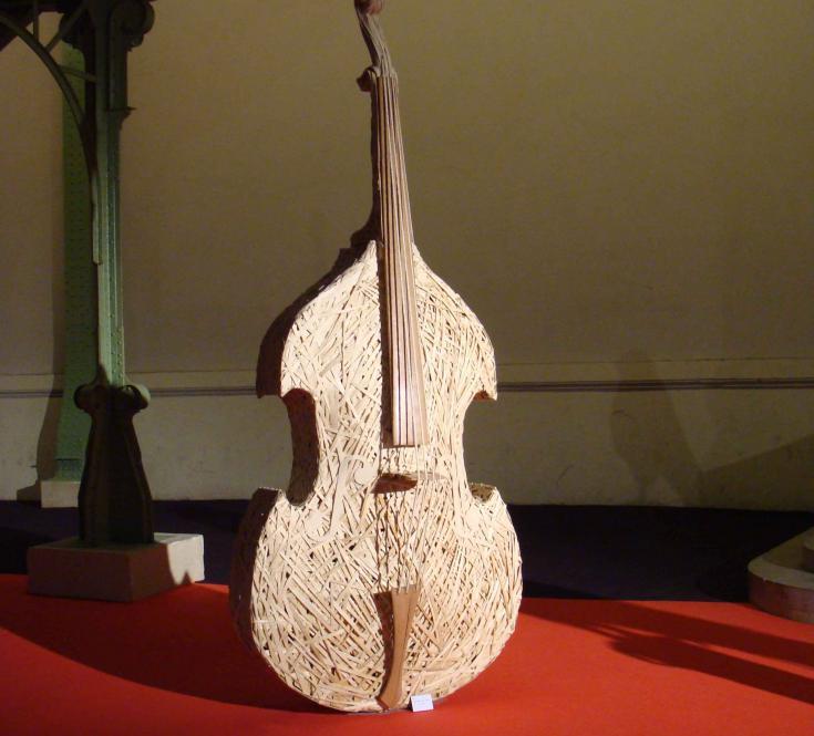 Raphaël de Just, sculpteur. Hilde, la Grand Mère de l'orchestre