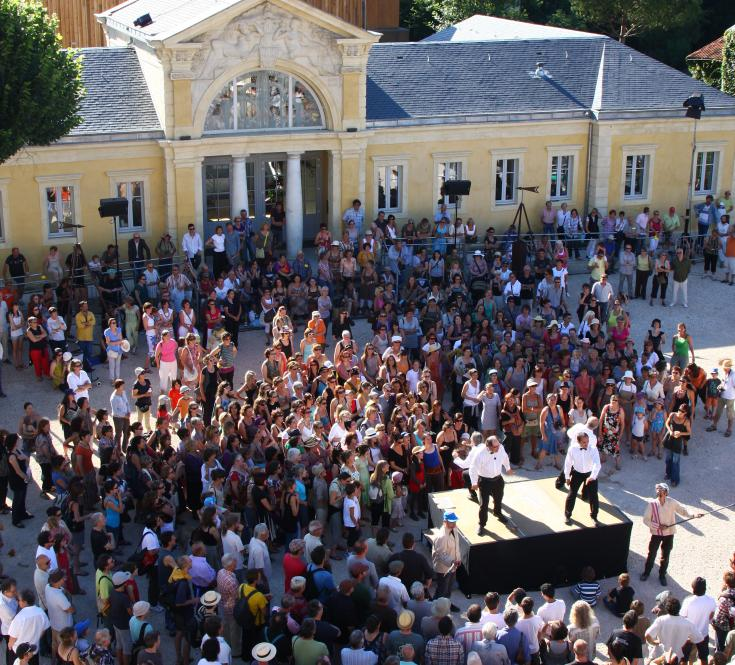 Inauguration des Thermes