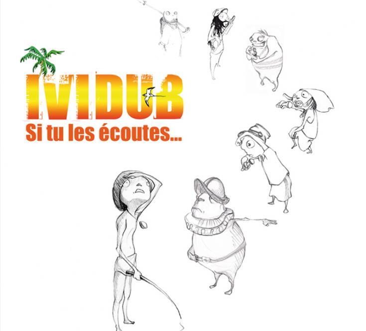 """2008 / mini LP """"Si tu les écoutes""""  Ividub & Alkemy Production"""