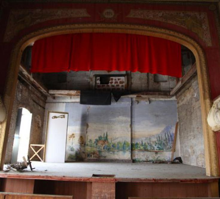 le théâtre à l'italienne
