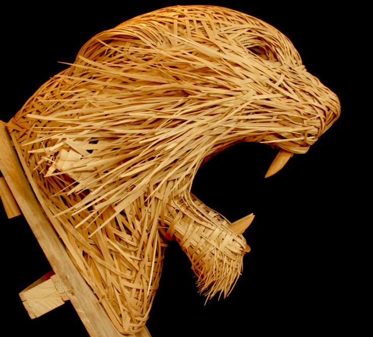 Raphaël de Just, sculpteur. Tiger Wood