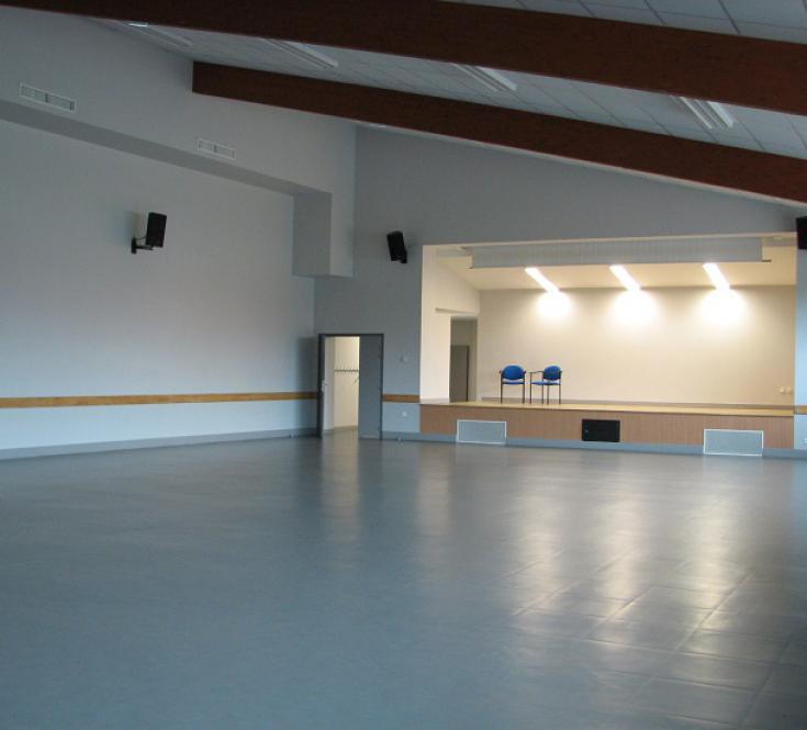 Salle de spectacle de la salle polyvalente