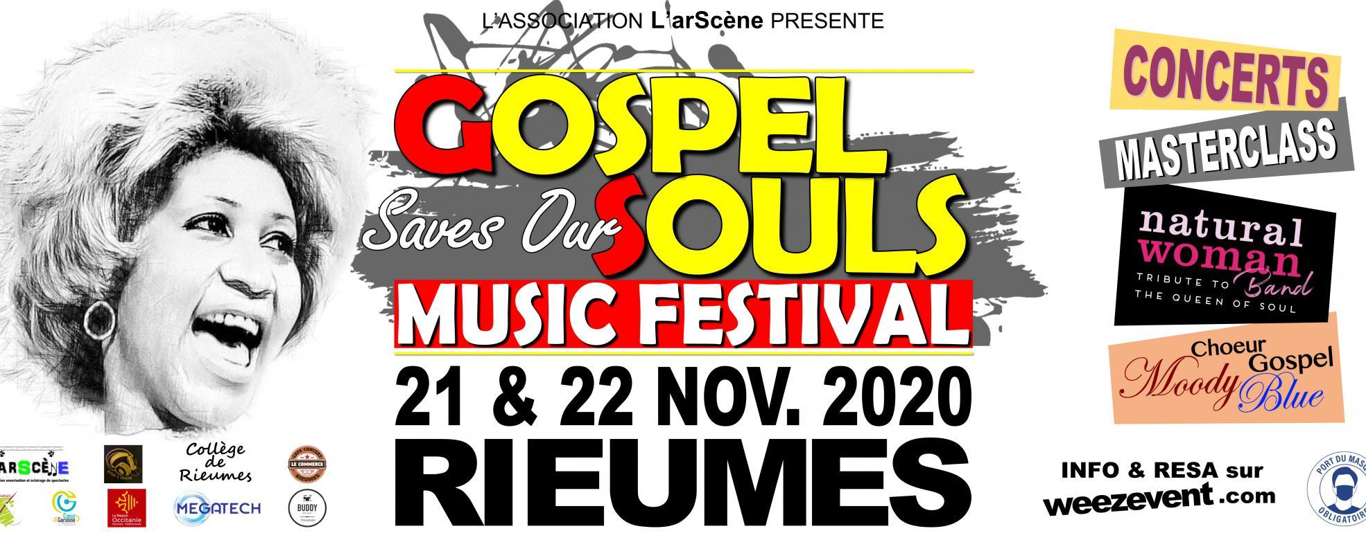 Gospel Saves Our Souls - Music Festival